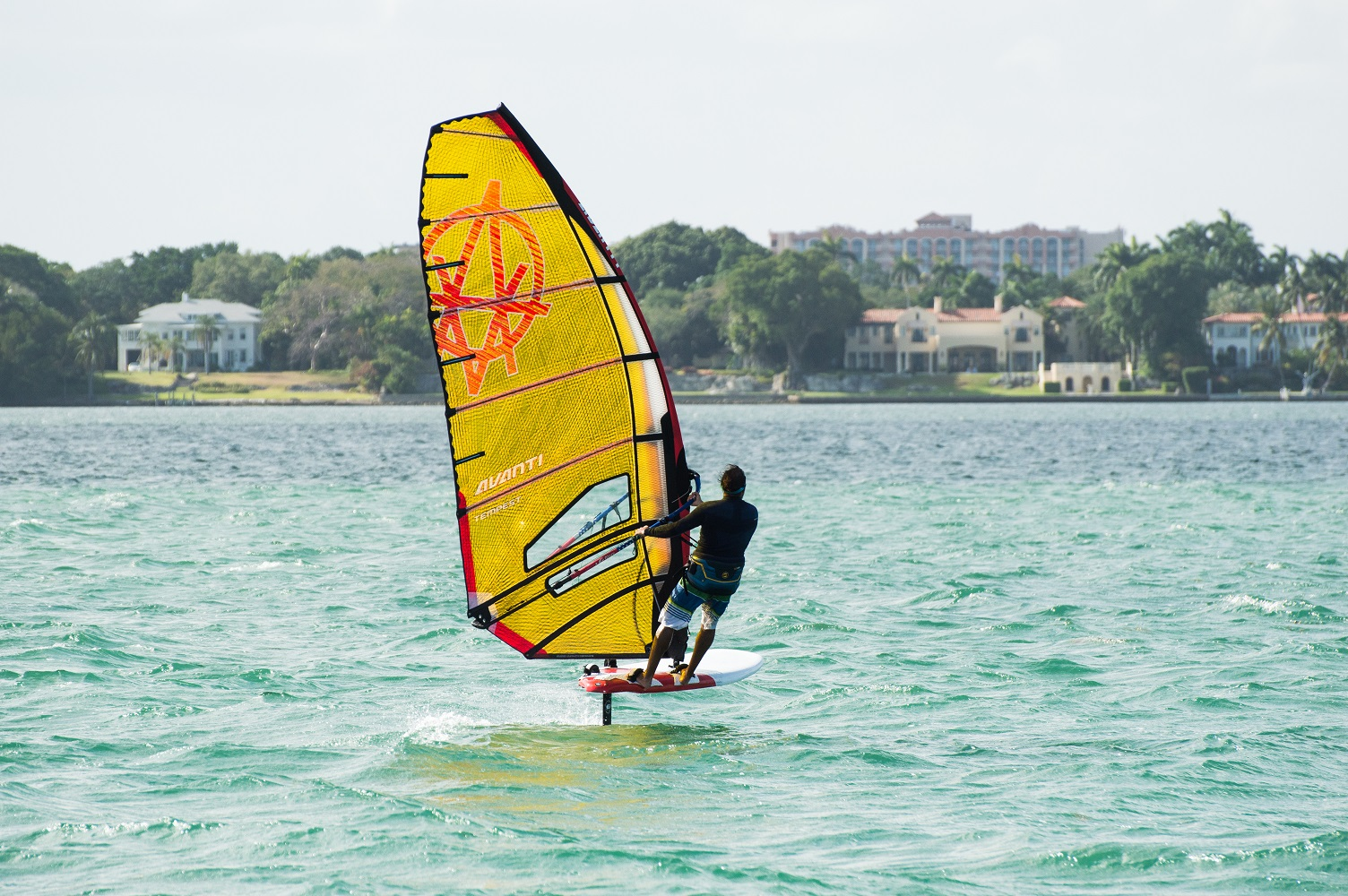 Tillo on Avanti sails small