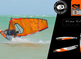SLIDE 99 – free style Windsurf Board